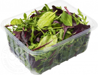 Packing tray for greens and vegetables